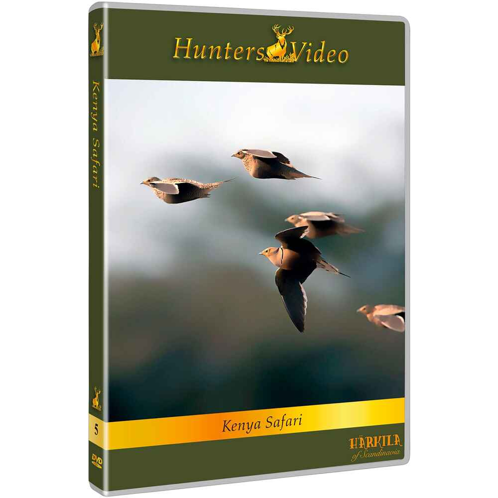 DVD: Kenia mit Flinte und Angelrute, Hunters Video