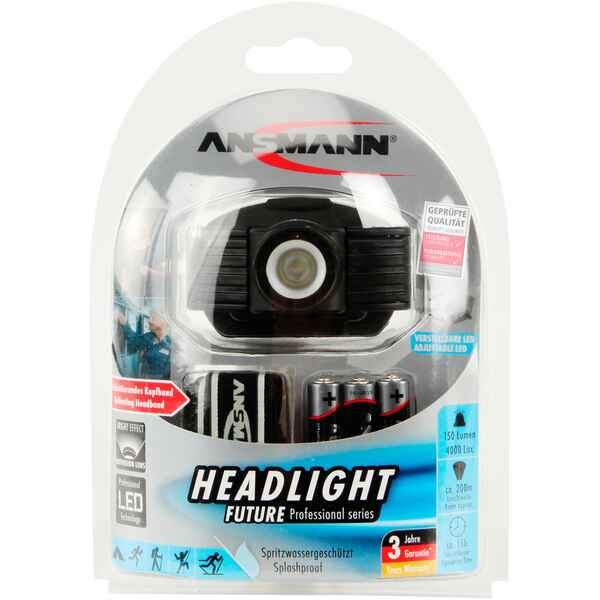 Stirnlampe Headlight Future, Ansmann