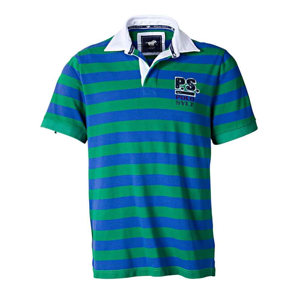 Polo Sylt Streifenpolo (grün blau) - Hemden - Bekleidung für Herren ... aefb20a04f