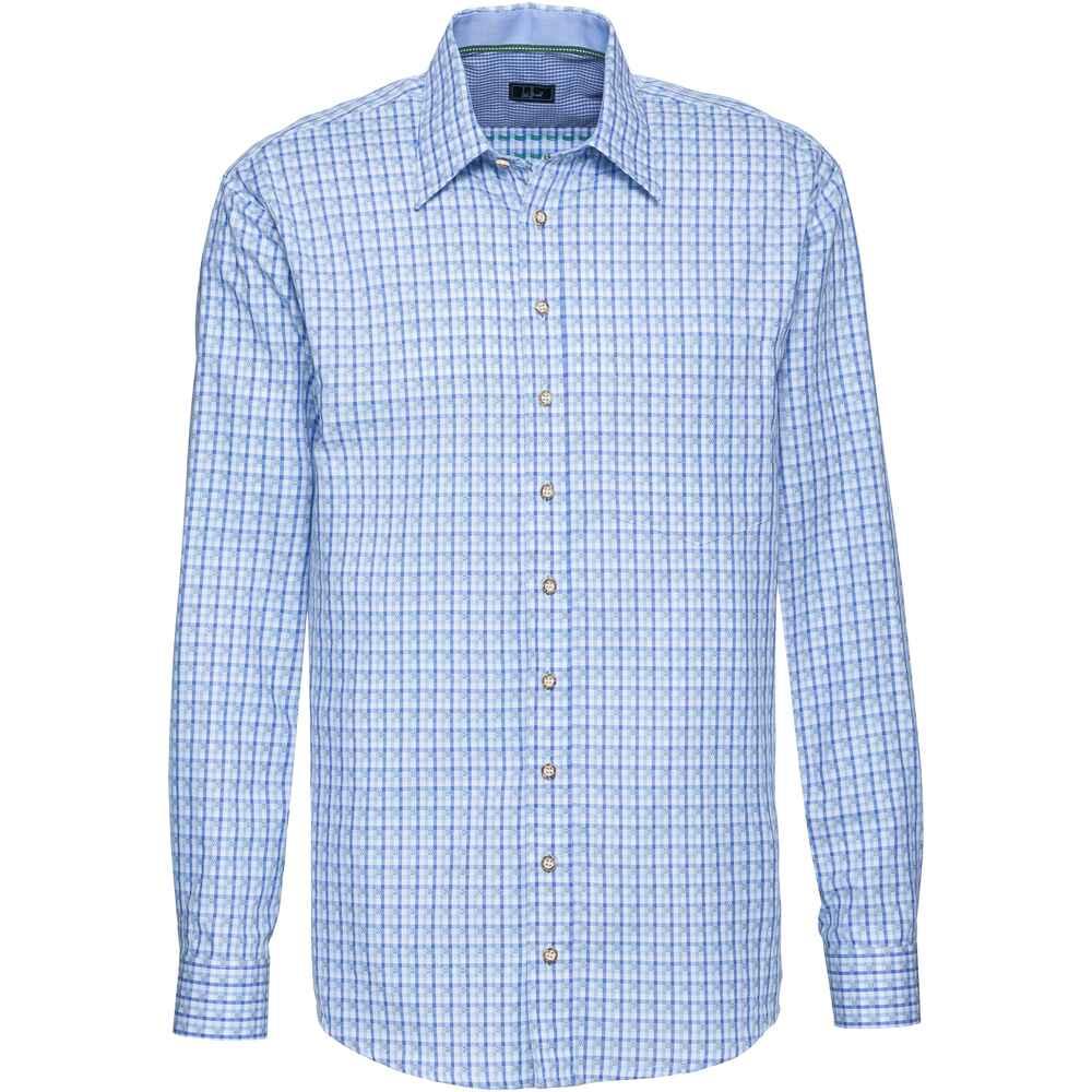 Luis Steindl Karohemd (Blau) - Hemden - Bekleidung für Herren - SALE ... abf53b0ff6