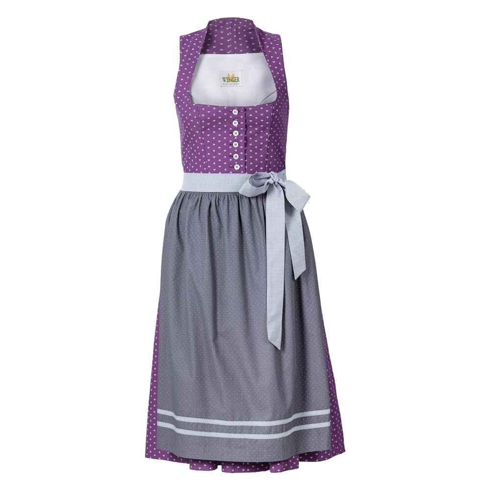 wenger midi stretchdirndl hella lila dirndl kleider bekleidung f r damen sale mode. Black Bedroom Furniture Sets. Home Design Ideas