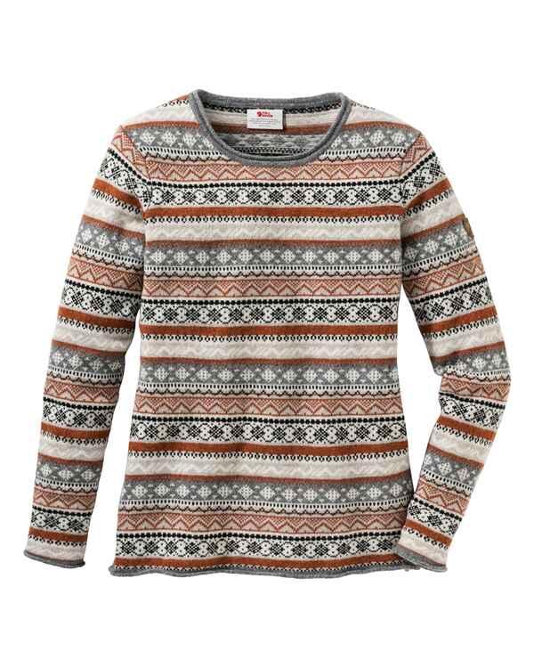 attraktive Farbe neu billig anders Fjällräven Pullover Övik Folk Knit