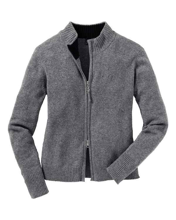 großer Rabattverkauf hohes Ansehen jetzt kaufen Bogner Jeans Strickjacke mit Zipper