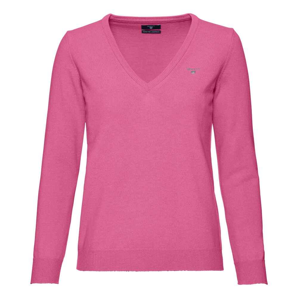 0a7489ae8887 Gant V-Pullover (Pink) - Strickjacken   Pullover - Bekleidung für ...
