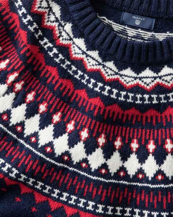 Brauch speziell für Schuh sehen Gant Pullover mit Norwegermuster