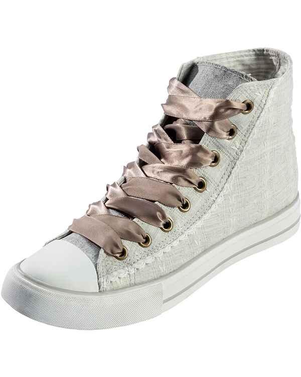 kr ger madl sneaker mit patches beige damenschuhe schuhe damenmode mode online shop. Black Bedroom Furniture Sets. Home Design Ideas