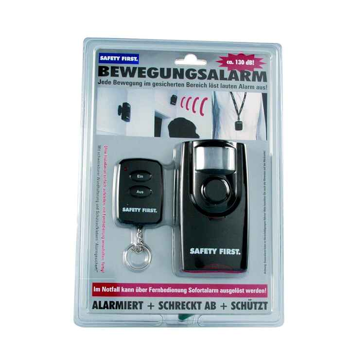 Bewegungsalarm Safety First mit Fernbedienung, KH-Security