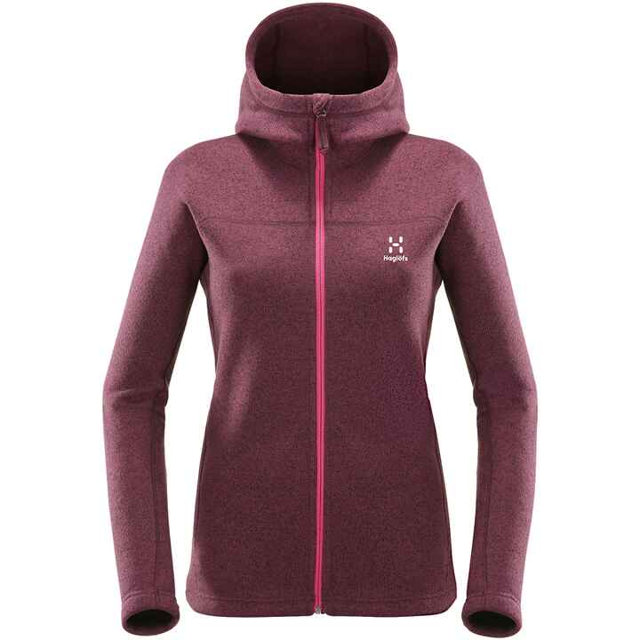 Fleecejacke Swook Hood Women, Haglöfs