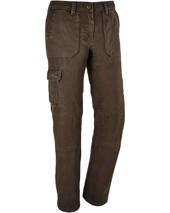 Damen Hose Canvas Winter Helga, Blaser Outfits